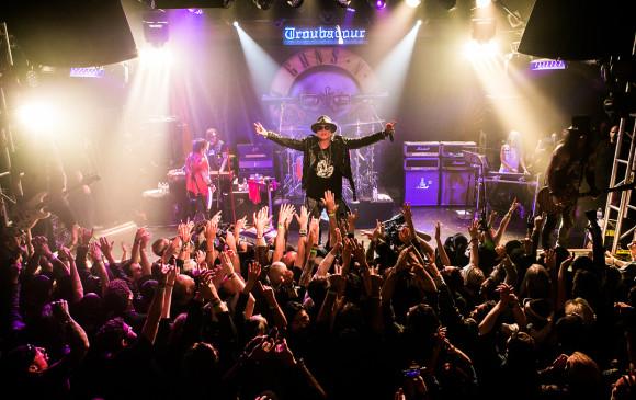 Guns N 'Roses se encuentra actualmente viajando por Europa en su gira Not In This Lifetime. FOTO: Instagram