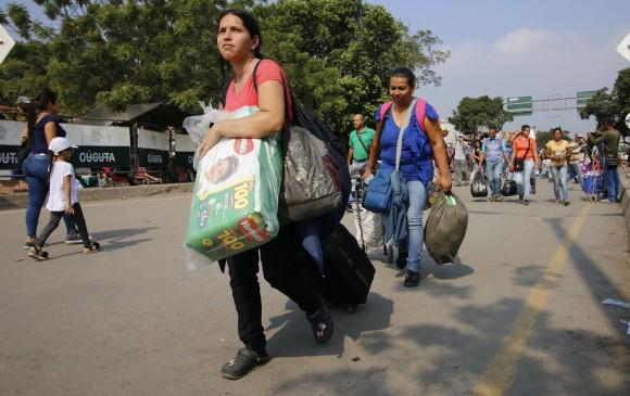 Cúcuta será uno de los tres puntos de acopio de la asistencia humanitaria. FOTO: EFE/ Schneyder Mendoza