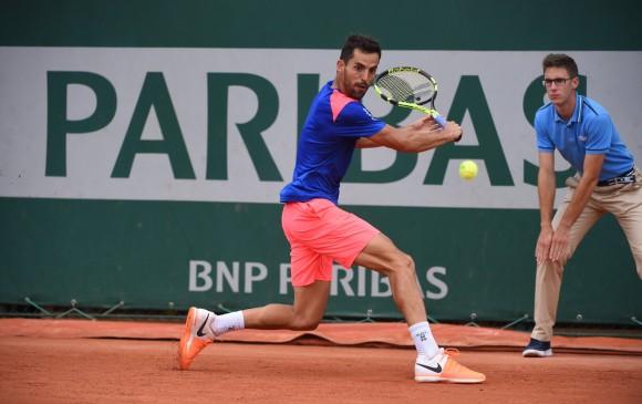 Santiago Giraldo perdió en su debut ante Seppi — Roland Garros