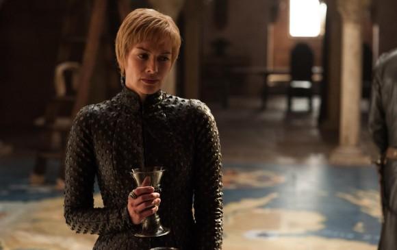 Cersei a la espera de la batalla.