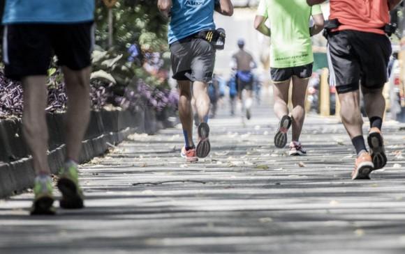 El running es una práctica que cada día tiene más adeptos en Medellín y otras ciudades. FOTO ARCHIVO EC