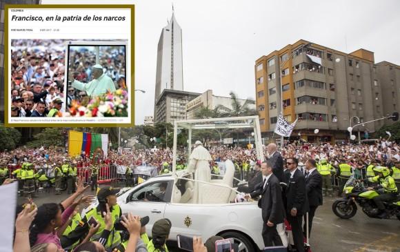 Federico Gutiérrez condenó artículo sobre visita del papa y narcos