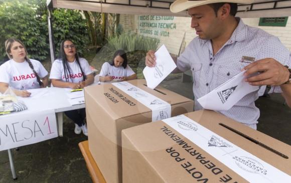 Un total de 391 mesas de votación fueron activadas en 94 municipios de la región para llevar a cabo las elecciones de cafeteros realizadas el pasado domingo 9 de septiembre. FOTO el colombiano