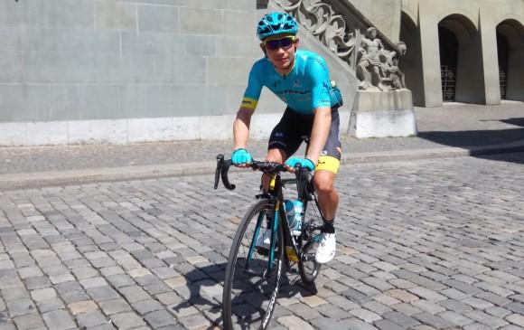 Colombiano Miguel Ángel López abandona la Vuelta a Suiza