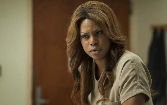 La actriz transgénero Laverne Cox le dio vida a una trans en la serie Orange is the new black de Netflix. FOTOS CORTESÍA