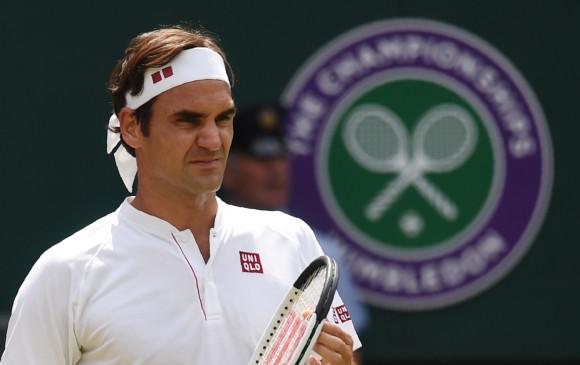 Por primera vez en su carrera una final de Federer en Wimbledon podría pasar a segundo plano por la agenda deportiva del día. FOTO: AFP