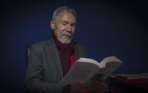 El autor había recibido este año el Premio Nacional de Novela por Ver lo que veo. Era director del Departamento de Creación Literaria de la Universidad Central. FOTO Colprensa