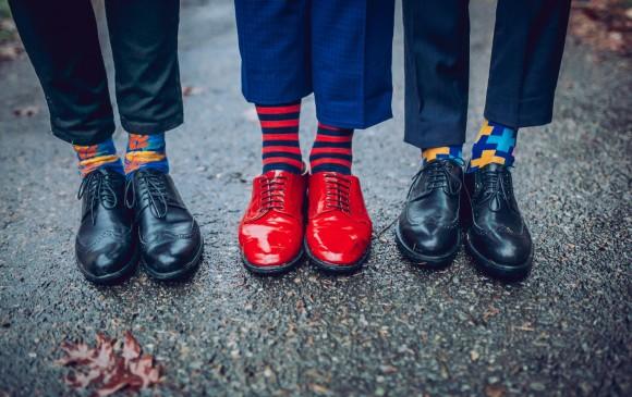 Opciones de medias para hombre. FOTO Sstock
