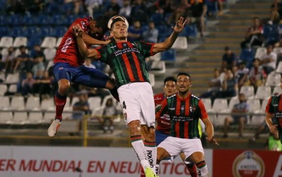 Es hora de que el Medellín saque a flote su jerarquía. Hoy juega ante la necesidad que tiene Palestino de marcar gol. FOTO efe
