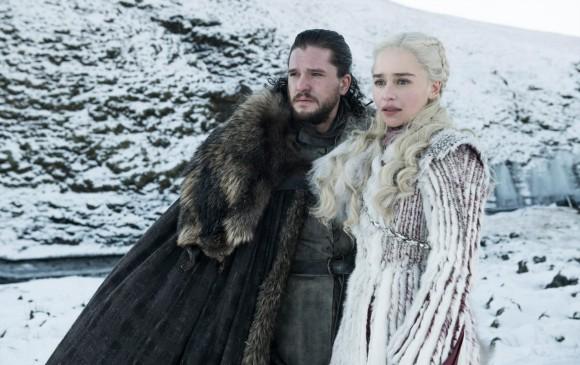En qué avanzará el idilio amoroso entre Jon Snow y Daenerys Targaryen? FOTO Cortesía HBO