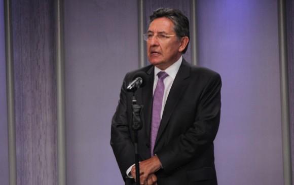 El fiscal general de la Nación, Nestor Humberto Martínez. Foto: Colprensa.