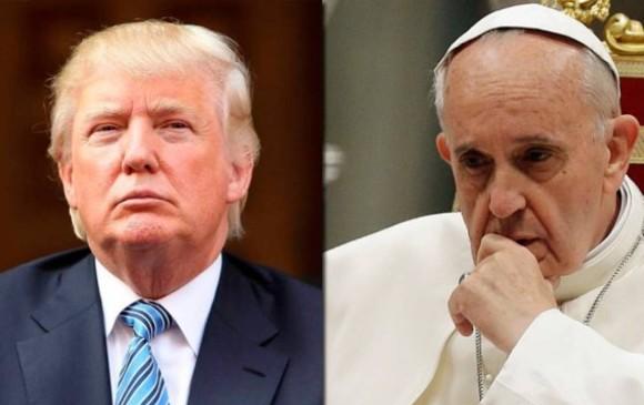 Trump llega a Roma para visitar al Papa Francisco