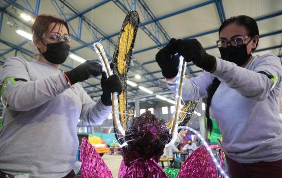 La decoración también se presentará en el corregimiento de Puerto Valdivia. FOTO CORTESÍA EPM