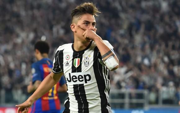 El delantero argentino marcó triplete con la Juventus en la Liga de Campeones contra el Young Boys. FOTO AFP