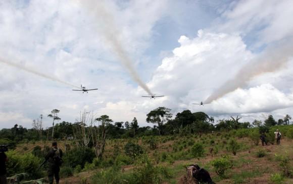 Colombia considera imposible fumigación aérea de coca como plantea EUA