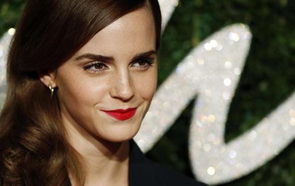 Emma Watson promueve en sus redes sociales la lectura. FOTO AFP