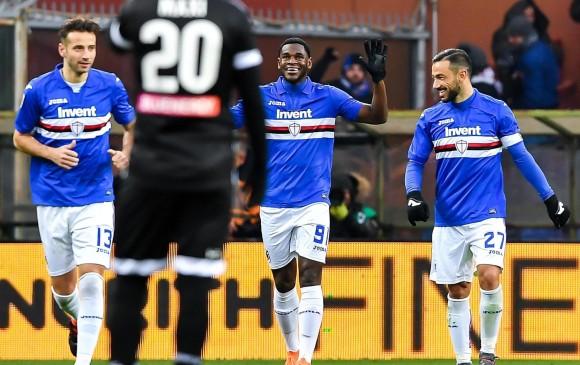 Duván marca golazo para la victoria de la Sampdoria