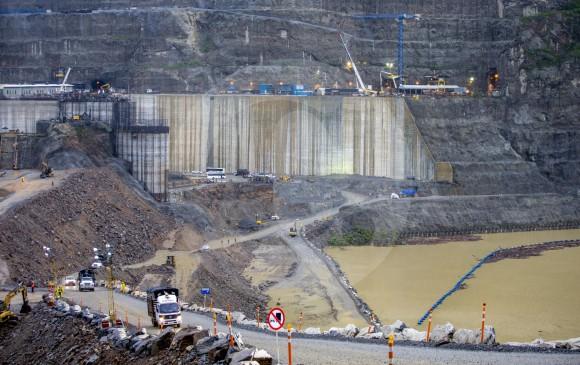 Hidroituango es una central de generación de energía eléctrica que tendrá una capacidad de generación de 2.400 megavatios. FOTO JUAN ANTONIO SÁNCHEZ
