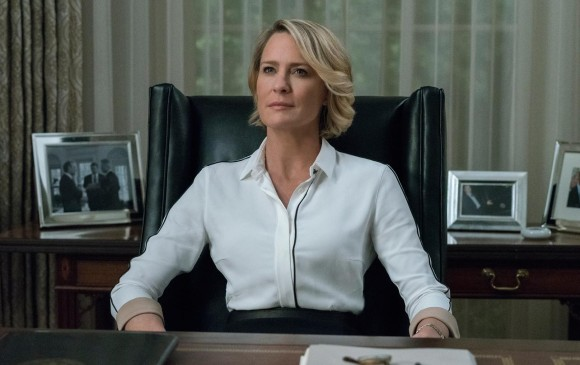 House of Cards es protagonizada por Robin Wright, Big Little Lies por Nicole Kidman y Sharp Objects por Amy Adams y Patricia Clarkson. FOTO Netflix - HBO