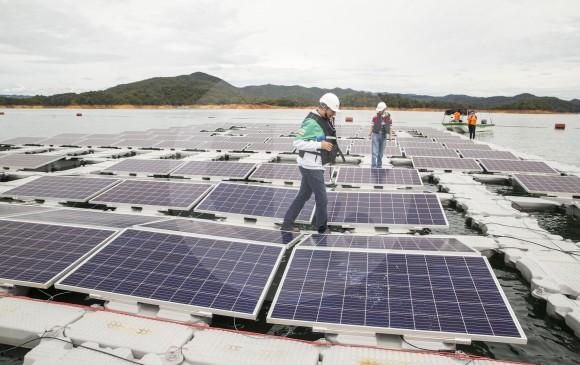 El Departamento Nacional de Planeación prevé que el uso de la energía solar ascienda a 1 % en 2029. FOTO Esteban vanegas