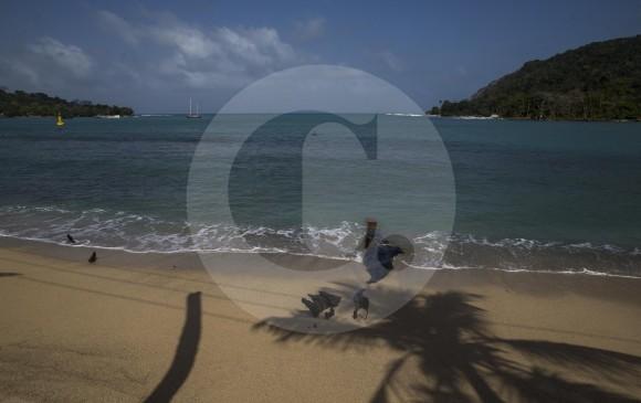 Corregimiento de Sapzurro en el municipio de Acandí, Chocó, en el mar Caribe. FOTO Esteban Vanegas