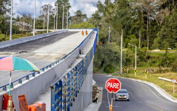El punto de salida del túnel conectará con el viaducto de la glorieta de Sajonia en Rionegro.