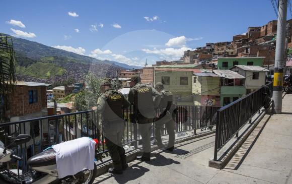 San Javier (comuna 13) de Medellín. FOTO EDWIN BUSTAMANTE