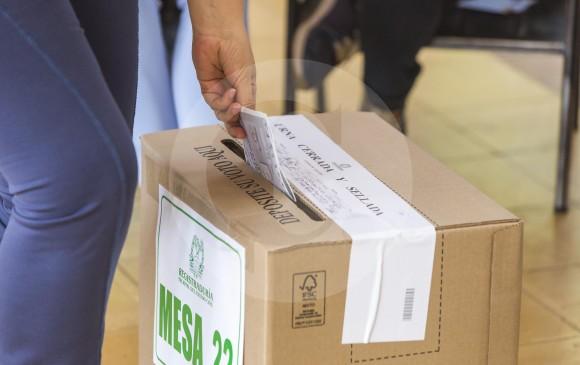 El próximo domingo 19 de agosto los habitantes de Yalí elegirán un nuevo alcalde, pues el anterior fue destituido y condenado por peculado por apropiación. FOTO carlos alberto velásquez