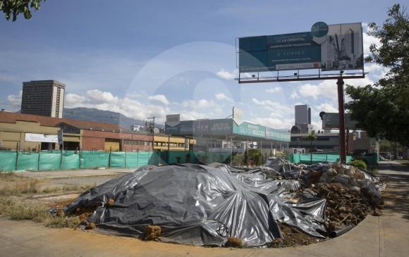 Proyecto New York, de la firma Invernorte, ubicado en la avenida oriental con Los Huesos, en Medellín. FOTO EDWIN BUSTAMANTE