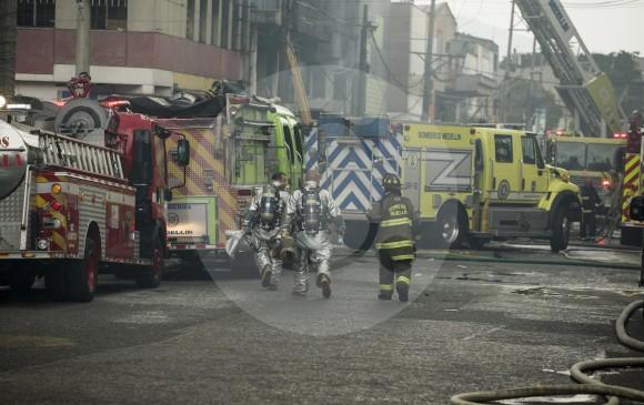 El incendio estuvo activo por cerca de seis horas. FOTO SANTIAGO MESA