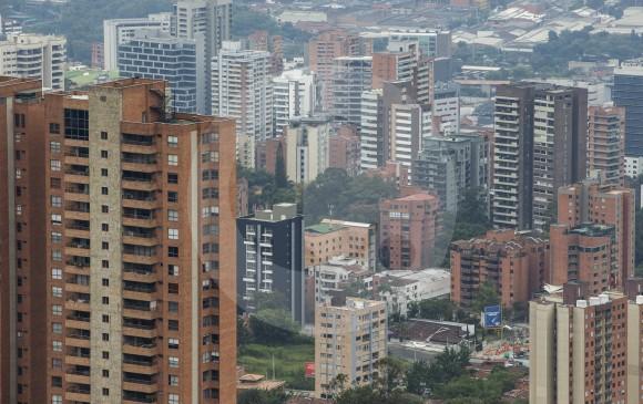 Panorámica de El Poblado en Medellín. FOTO SANTIAGO MESA