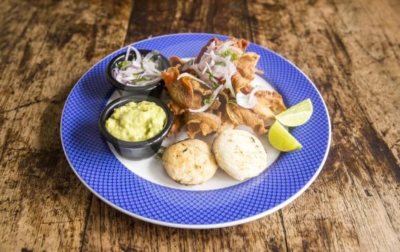 Este ceviche será una entrada muy sabrosa. FOTO Carlos Velásquez Locación Restaurante Palogrande .