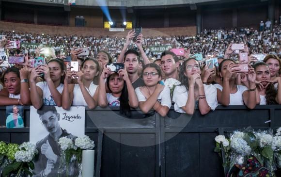 Cerca de 10.000 personas llegaron a La Macarena para sumarse al mensaje de más sueños, menos balas . FOTO Santiago Mesa.