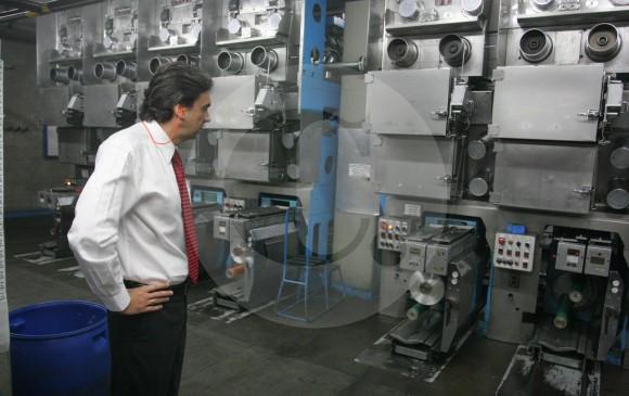 Álvaro Hincapié, presidente de Enka, precisó que este año estarán en operación nuevas plantas productoras de fibras que le permitirán llegar a nuevos mercados. Foto: Esteban Vanegas