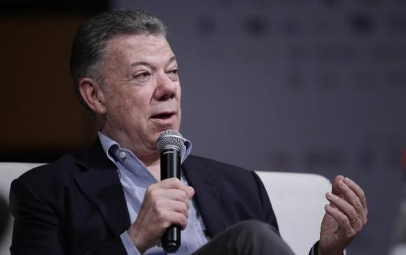 El expresidente Juan Manuel Santos ha sido señalado por recibir dinero en su campaña para la reelección en 2014. FOTO: COLPRENSA