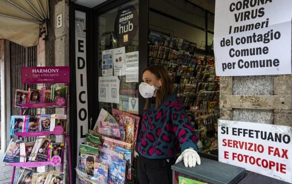 Cualquier movimiento de personas por algún medio de transporte dentro de Italia quedará restringido. FOTO EFE