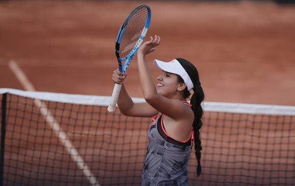 Camila Osorio, a semifinales de Roland Garros Juniors