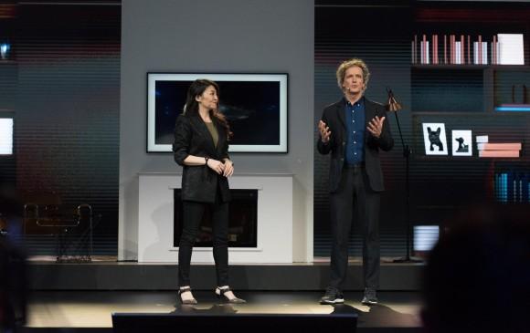 El TV deja de ser un simple electrodoméstico y pasa a ser parte de la decoración de su hogar. FOTO: Samsung
