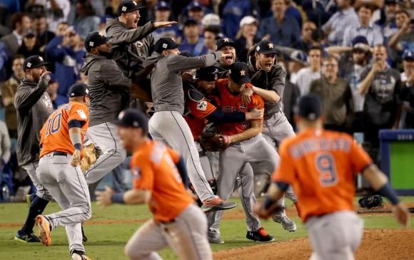 Astros venían de vencer a los Yankees de Nueva York en la final de la Liga Americana. FOTO AFP