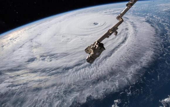 Huracán Florence rumbo a la costa sureste de Estados Unidos. FOTO: EFE
