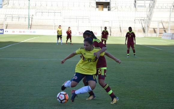 Colombia Sub-17 venció a Venezuela en la fase final del Sudamericano