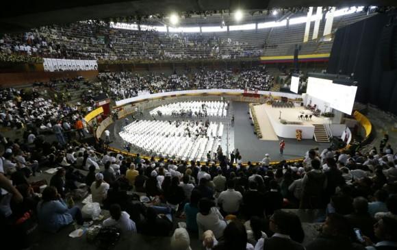 Francisco apostó fuerte por la reconciliación en tierra colombiana