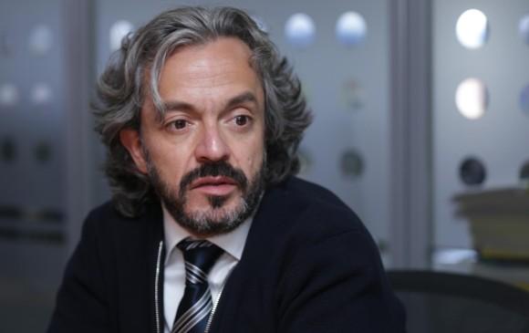 El director del Dane, Juan Daniel Oviedo, presentó los resultados del IPC para enero de 2019. Foto: Colprensa.
