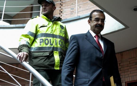 General (r) Palomino se declara inocente en proceso por tráfico de influencias