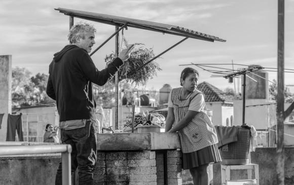 Roma, la más reciente producción del mexicano Alfonso Cuarón (Gravity, Y tu mamá también, Harry Potter y el prisionero de Azkaban), fue producida por Netflix y acaba triunfar en Venecia. Es una de las favoritas al Óscar a Mejor película extranjera. FOTO netflix
