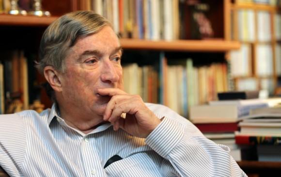 Falleció a los 73 años en 2015. Apoyó firmemente el diálogo para salir de la guerra en el país. FOTO Juan Antonio Sánchez.