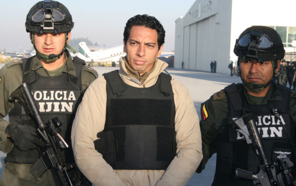 Lo suelta Estados Unidos y lo agarra Colombia — Murcia