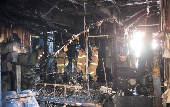 31 personas mueren por un incendio en hospital surcoreano