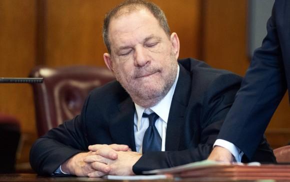 En mayo, Harvey Weinstein se declaró no culpable de los cargos de violación y otros delitos sexuales contra dos mujeres. Foto AFP