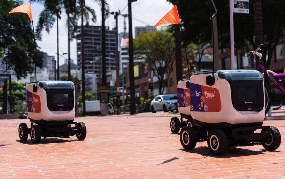 Rappi comienza pruebas piloto de domicilios con robots